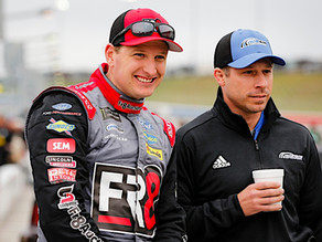 FRM Feature: McDowell Speaks About Relationship with Crew Chief Drew Blickensderfer and Fr8Auctions