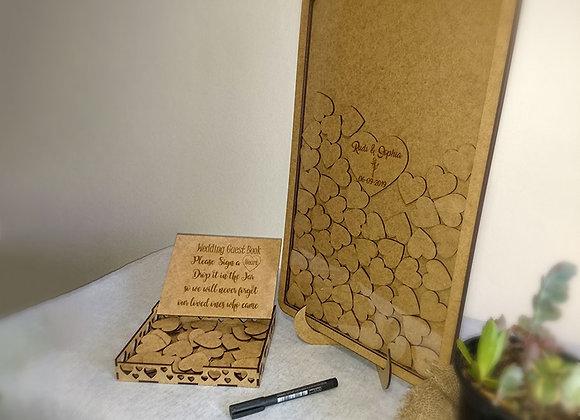 Wedding Guest Book Jar