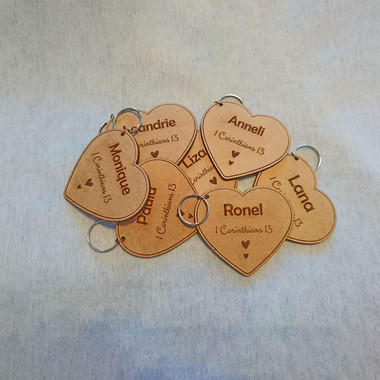 Woman's Day Key Rings