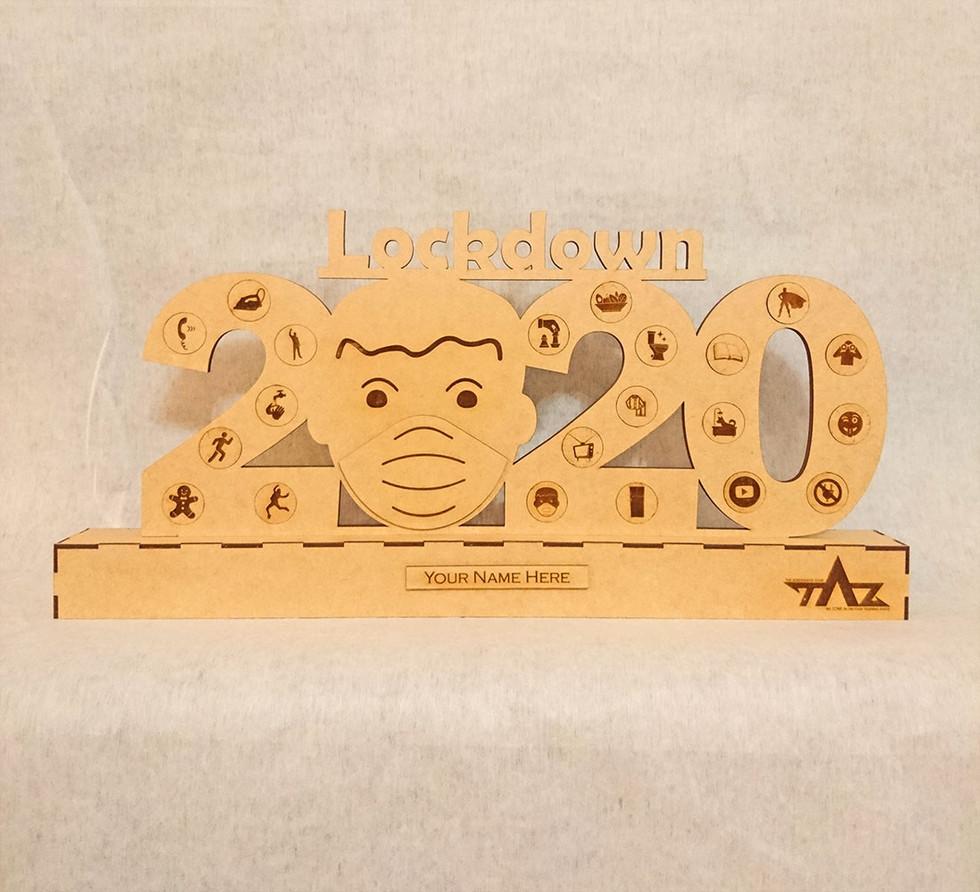 2020 Lockdown Challenge Trophy