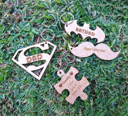Father's Day Key Rings