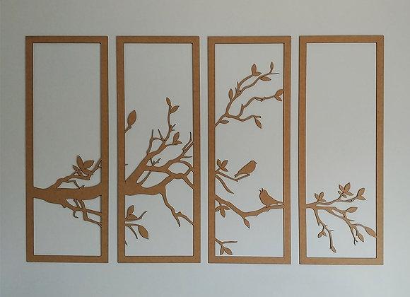 Tree Branch Wall Panels