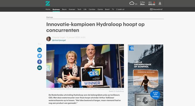 Article rtlz.nl
