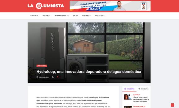 Article lacolumnista.com
