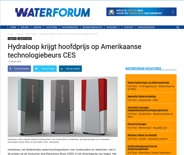Article waterforum.net