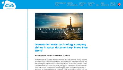 Article watercampus.nl