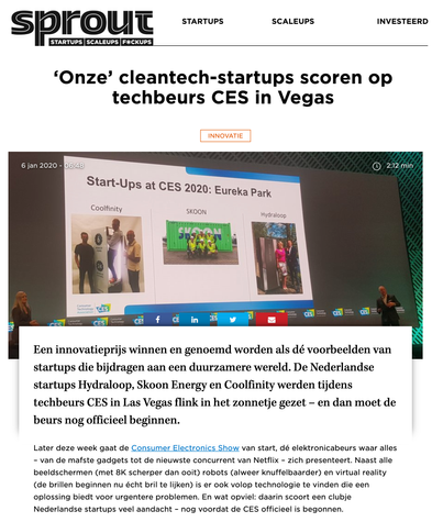 Article Sprout innovatie