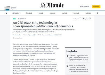 Article lemonde.fr