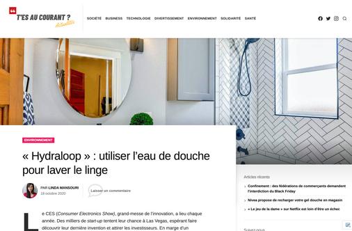 Article tesaucourantactu.com