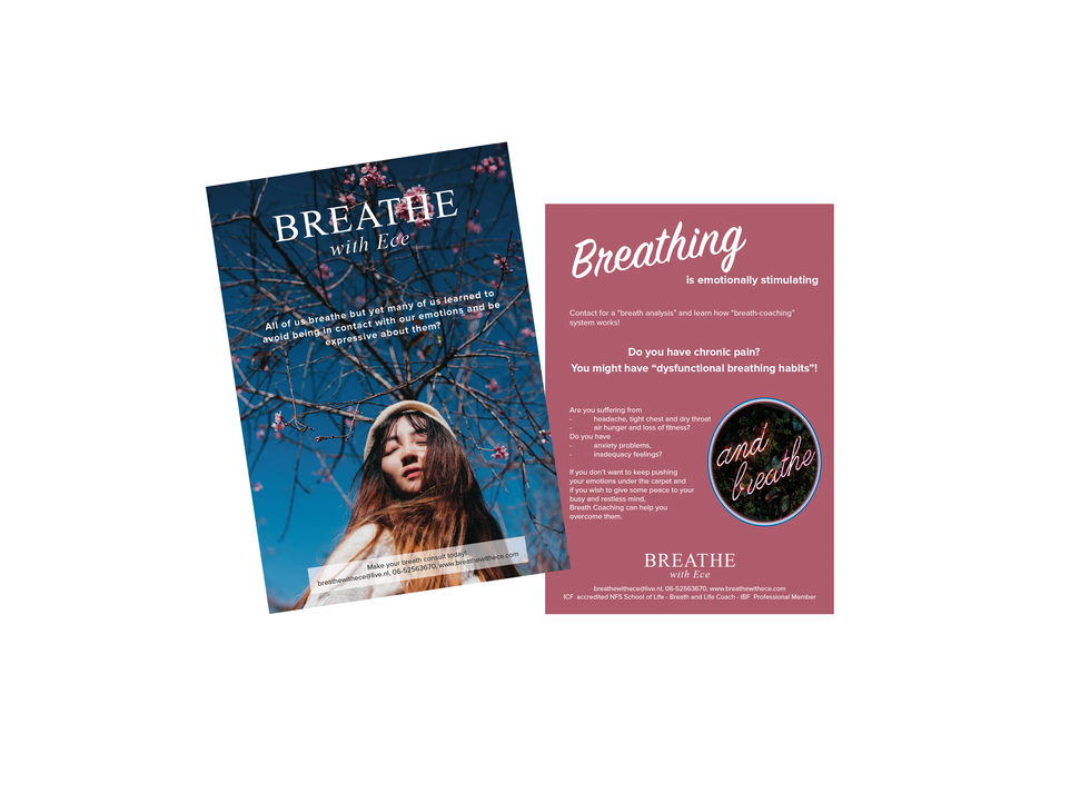 Flyer Breathe with Ece