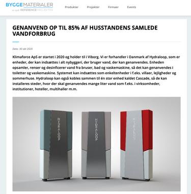Article byggematerialer.dk
