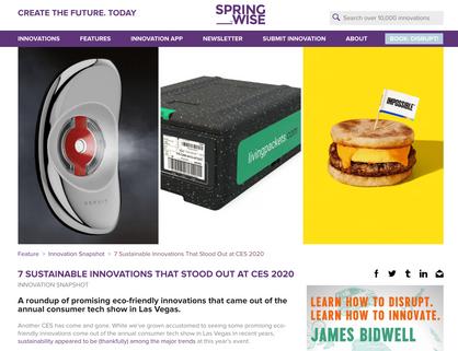 Article springwise.com