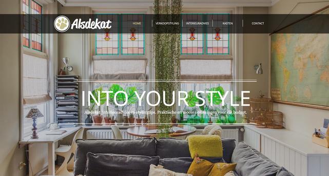 Website creatie en ontwikkeling www.alsdekat.nl