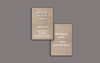 Huisstijl & Logo Organic Beauty Point 2014