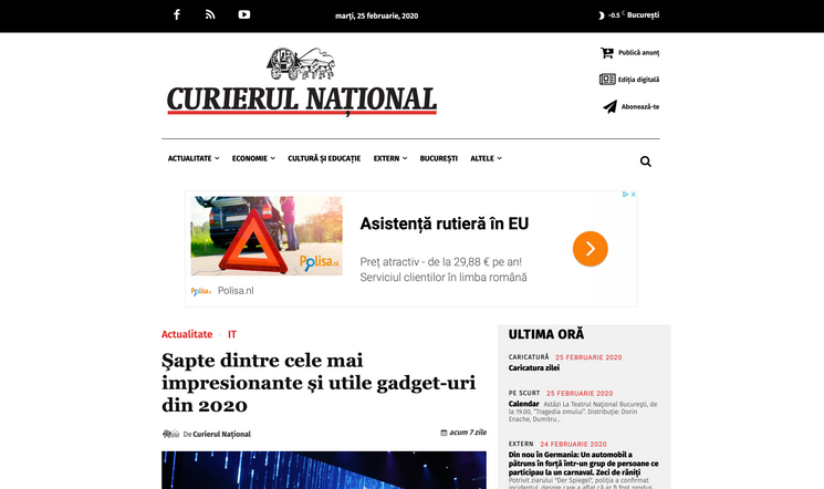 Article curierulnational.ro