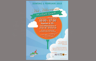 Poster Minigolf event