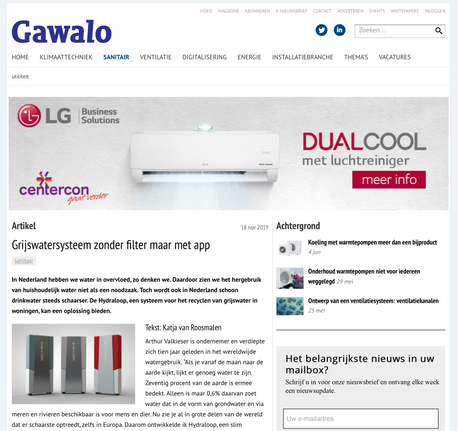 Article gawalo.nl