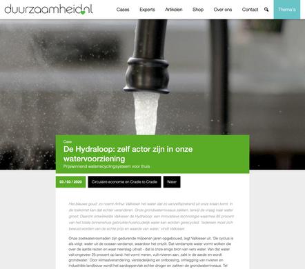Article duurzaamheid.nl/