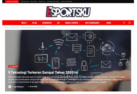 Article esportsku.com