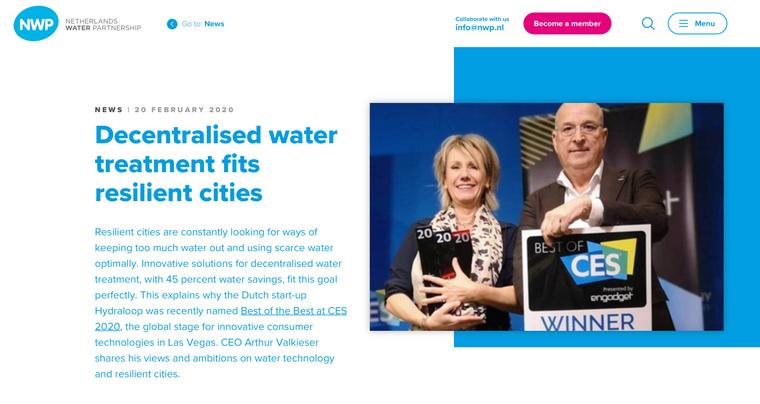 Article netherlandswaterpartnership.com