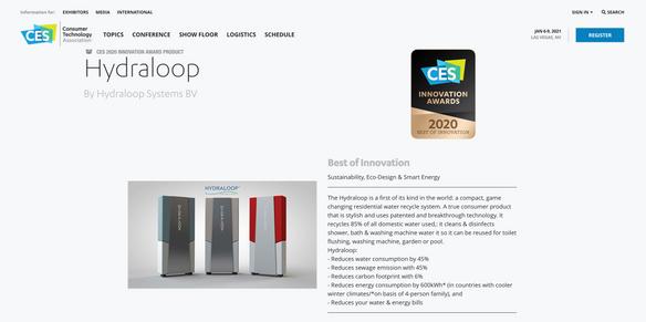 Juryrapport CES Best of Innovation