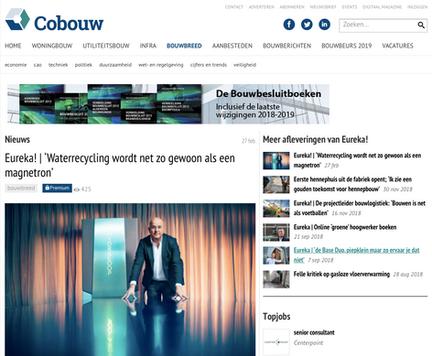 Article Cobouw Feb. 2019