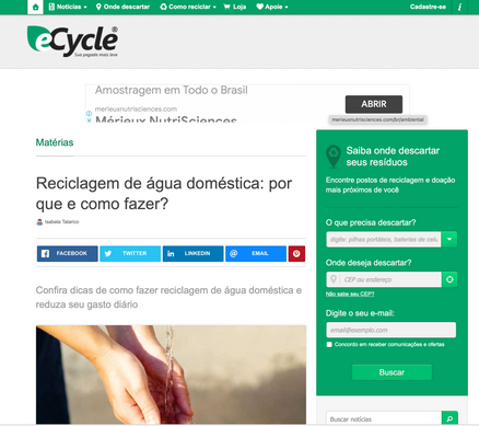 Article ecycle.com.br