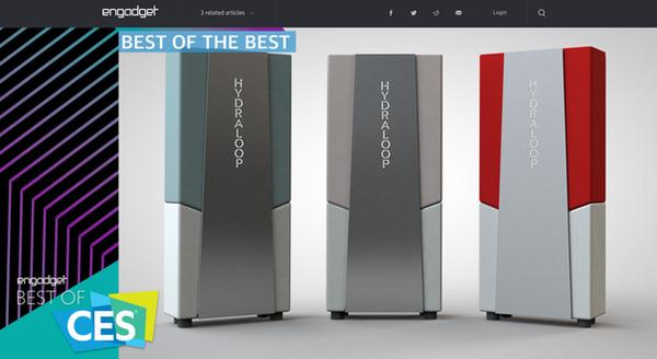 Winner best of the best CES! engadget.com