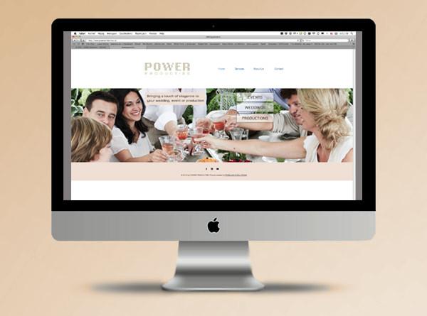 Website Power Producties