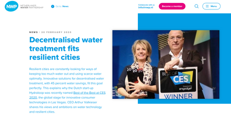 Article netherlandswaterpartnership.com