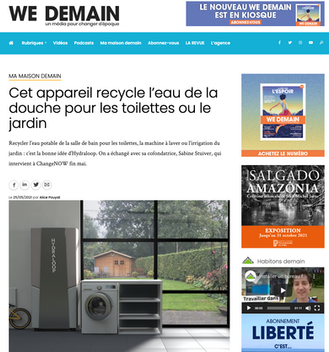 Article wedemain.fr