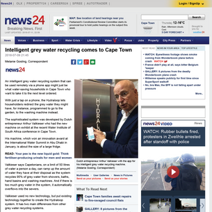 News 24, Cape Town July 2018