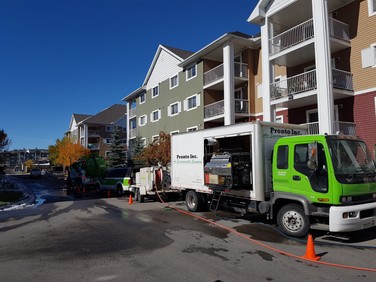 Pronto Calgary Appartment sewer drain cleaning