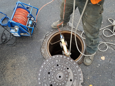 Pronto Calgary CCTV Sewer Camera Inspection