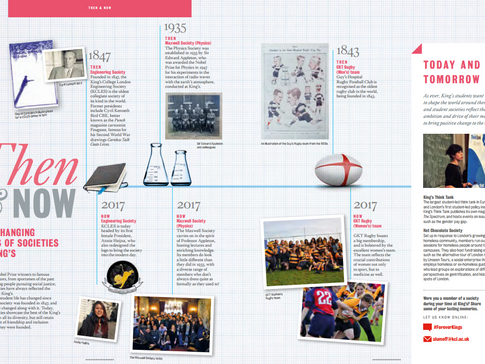 King's College London: In Touch Magazine