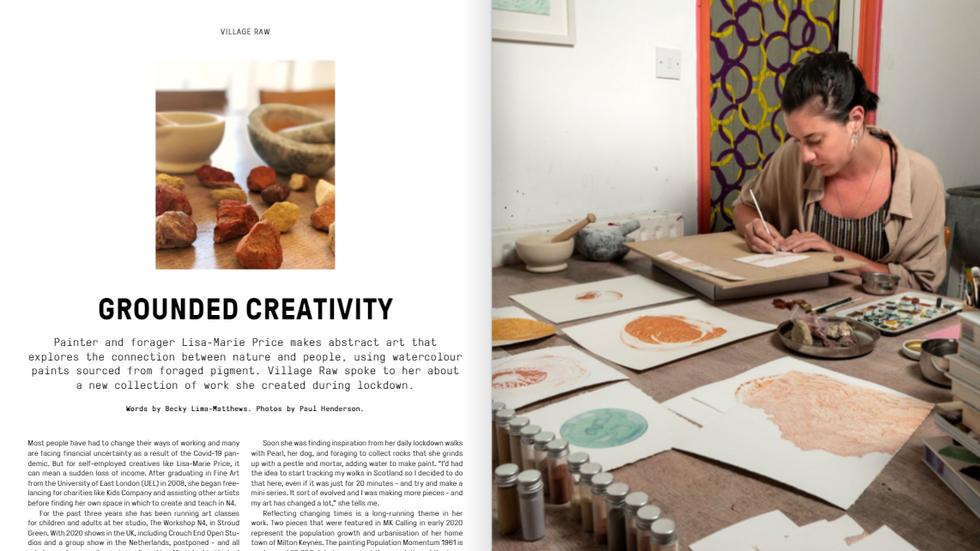 Arts&Culture Journalism/Features -VIllage Raw Magazine