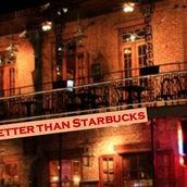 poetry magazine, Better than Starbucks logo