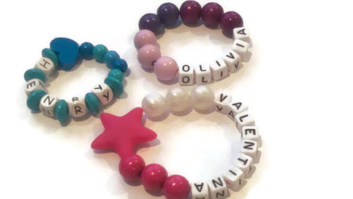 Personalized Bracelets For Babies Toddlers And S Teething Necklaces Sensory