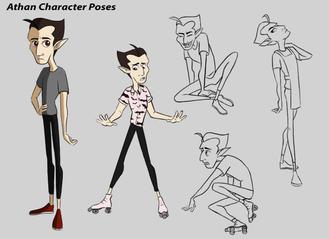 Athan Character Poses