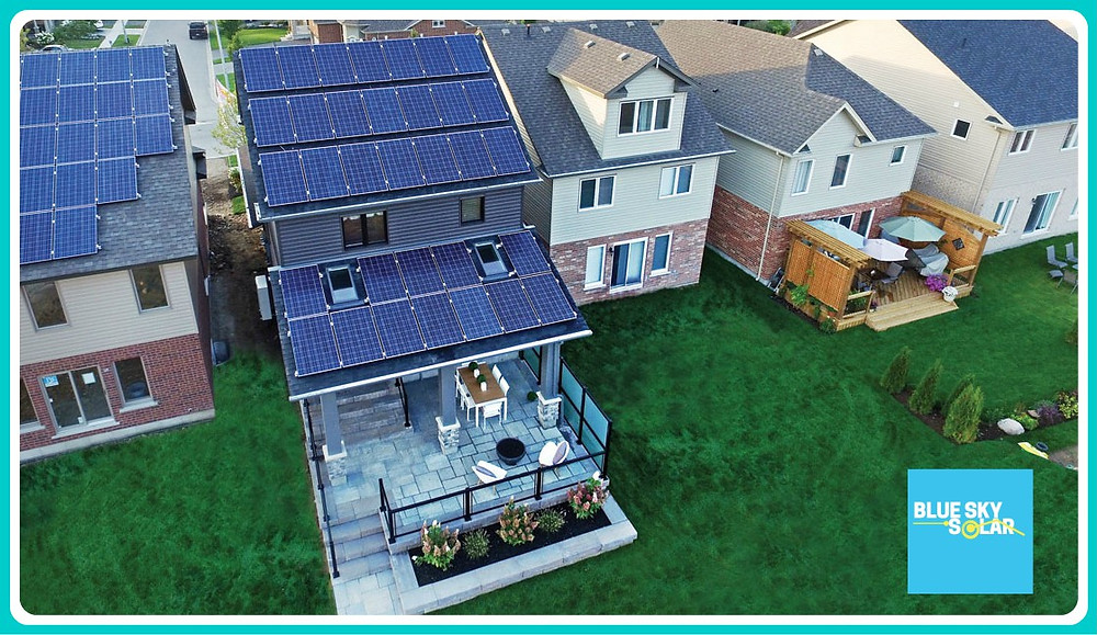 solar panel canada, blue sky solar, solar panel prices