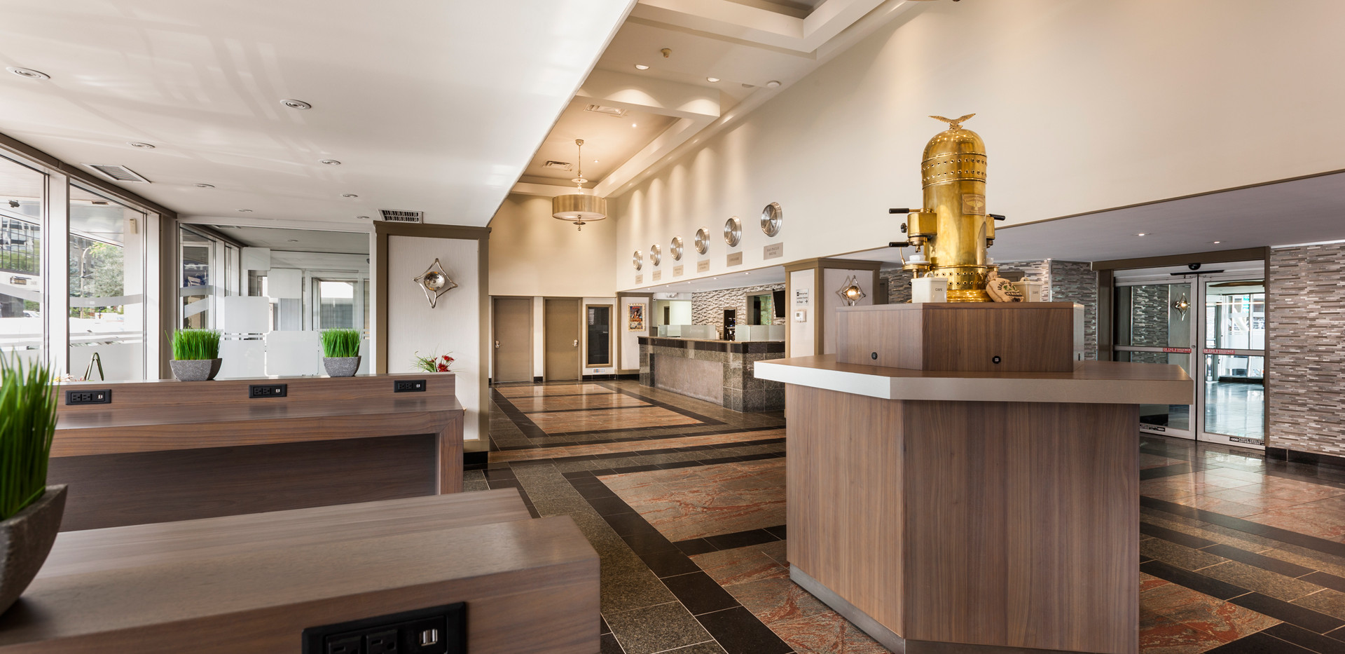 lobby espresso hotel