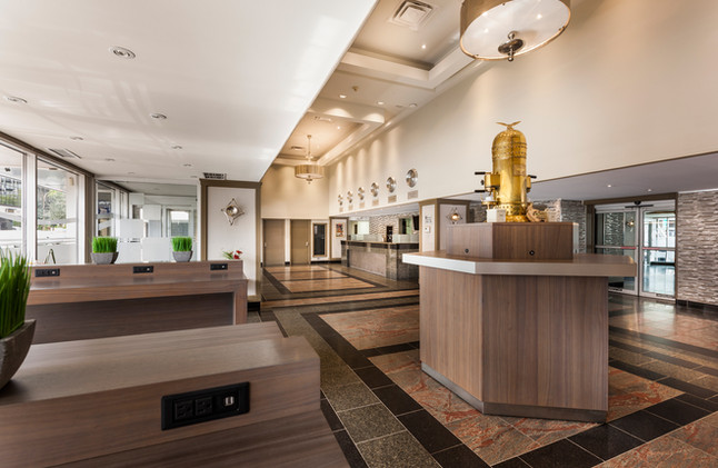 Espresso Hotel Lobby