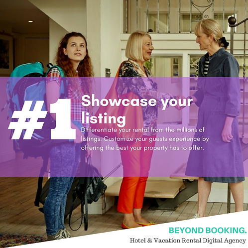 Showcase Your Listing