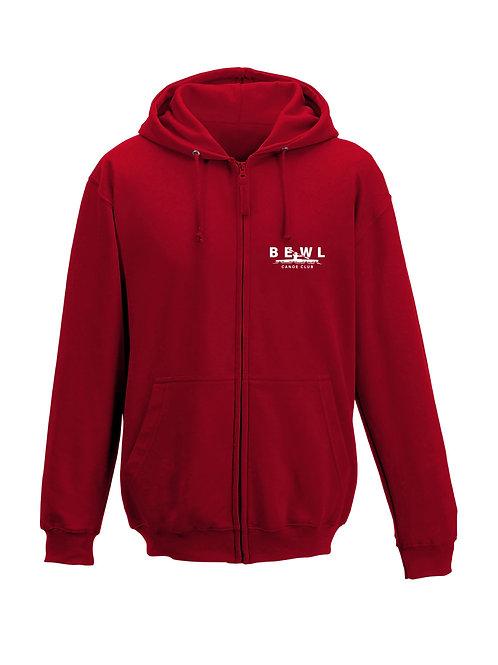 Mens BCC zipped hoodie