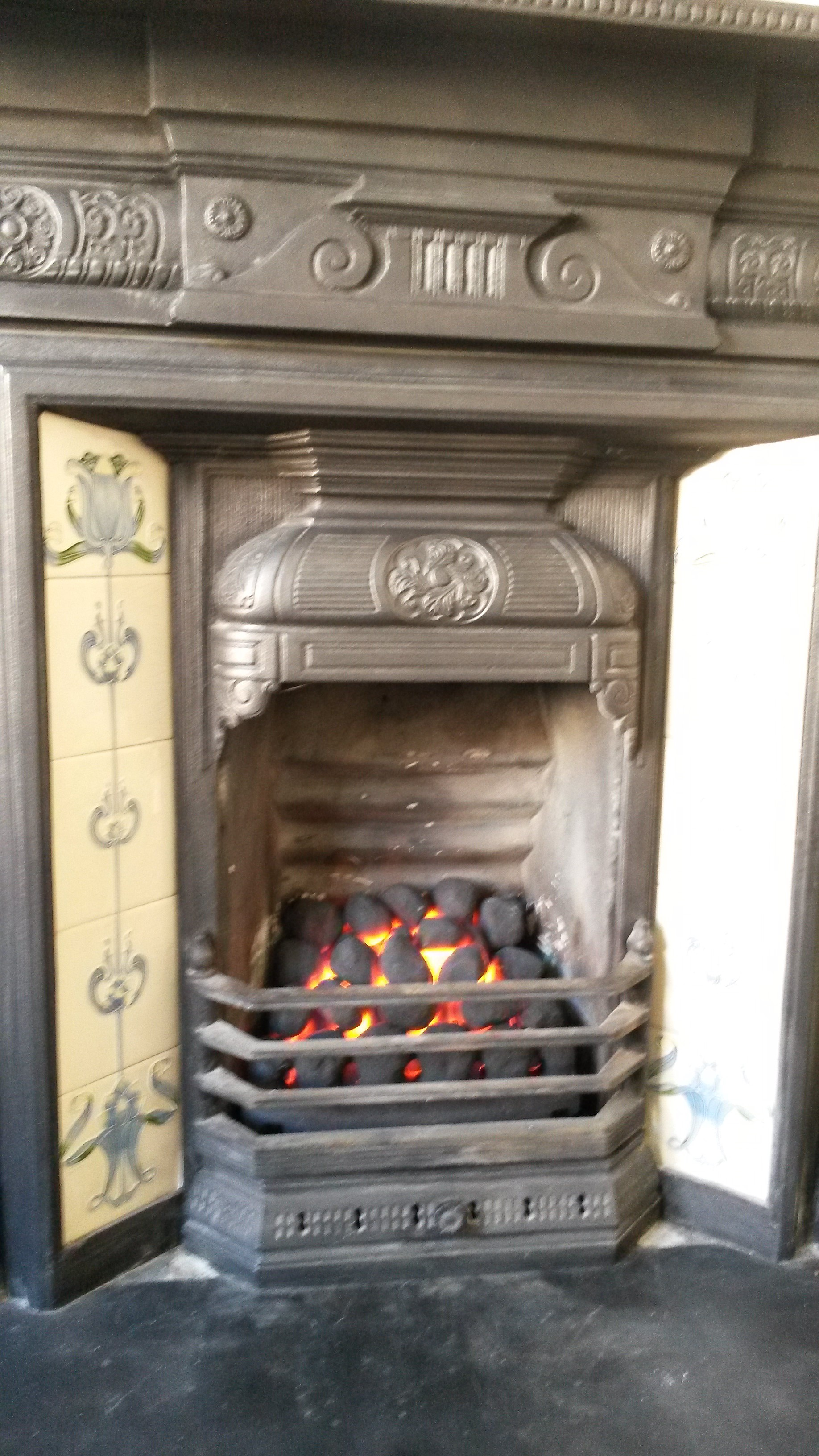 Decorative coal effect gas fire