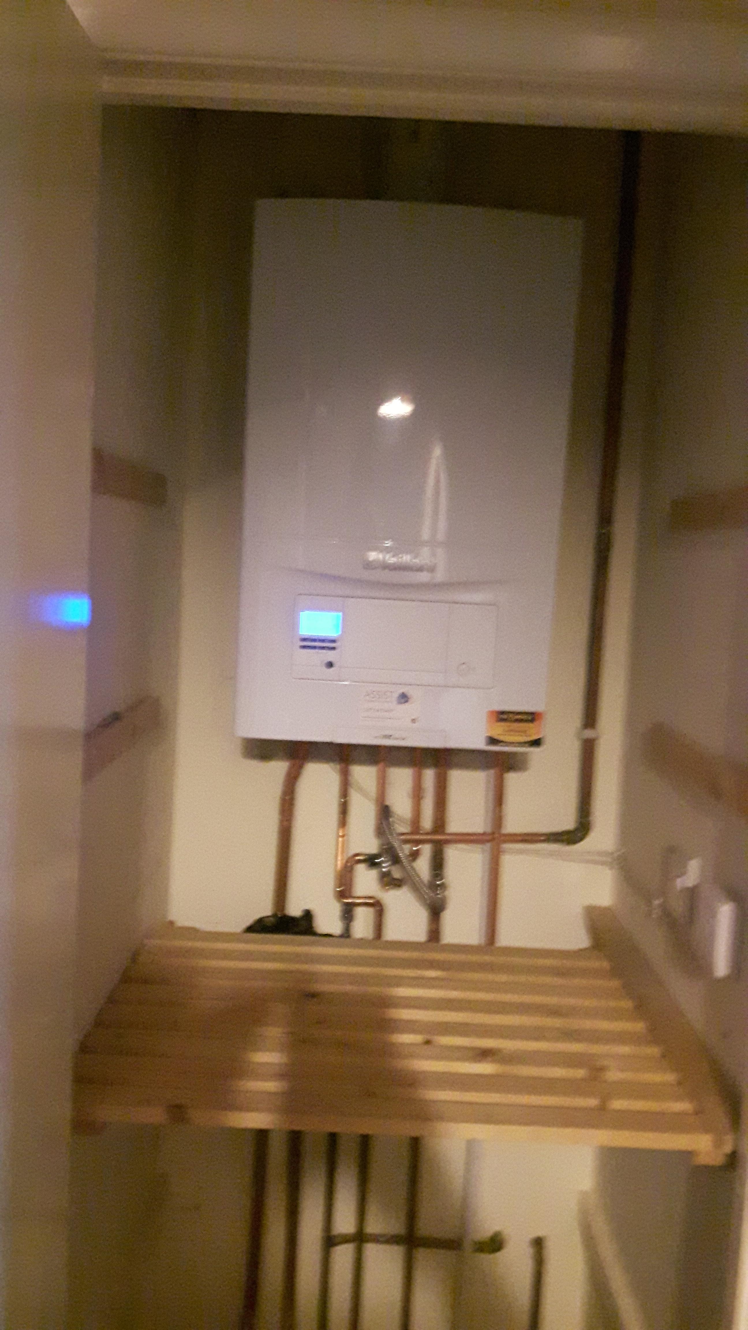 Vaillant Boiler Swap
