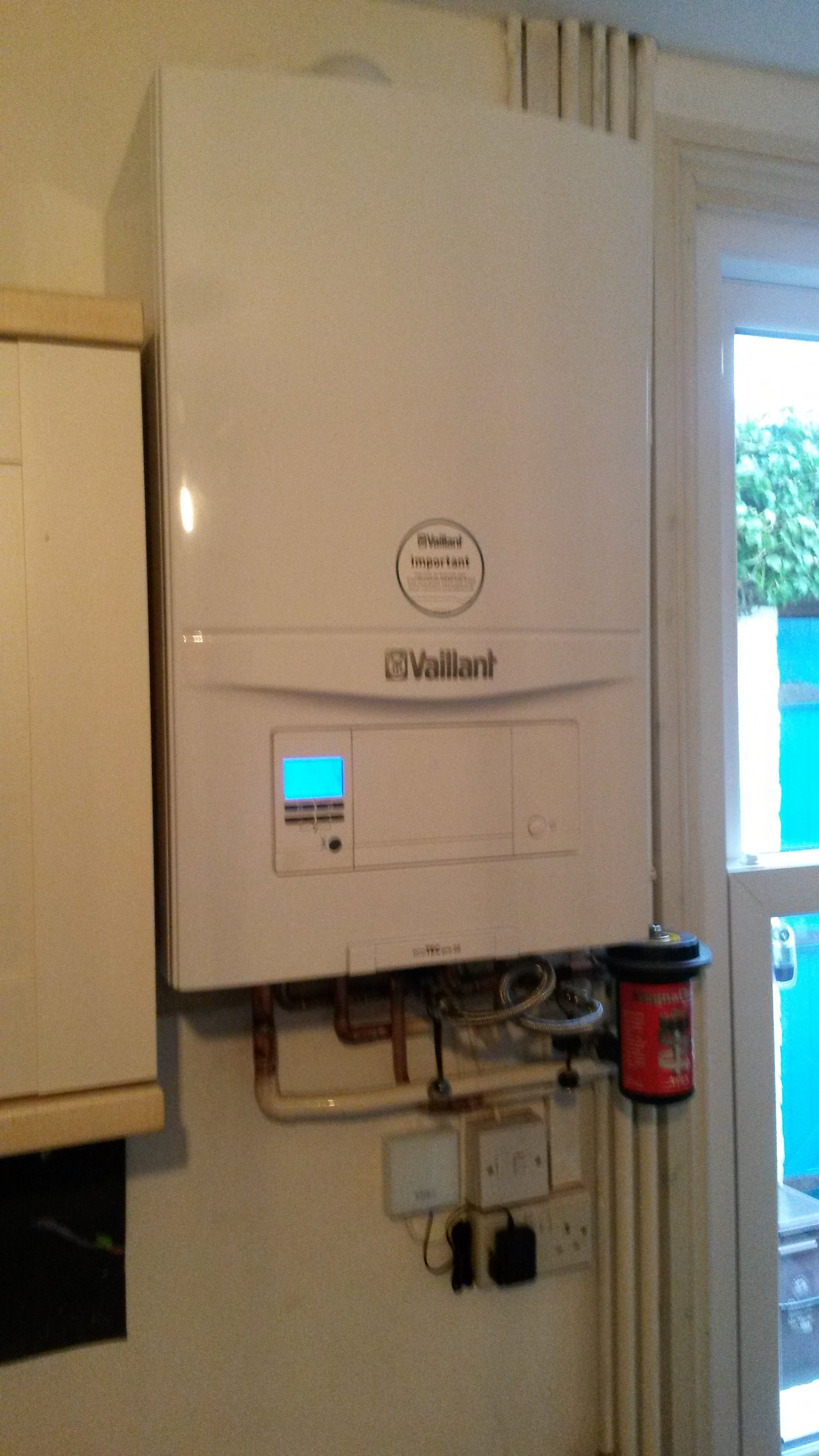Vaillant combi and vSMART controls