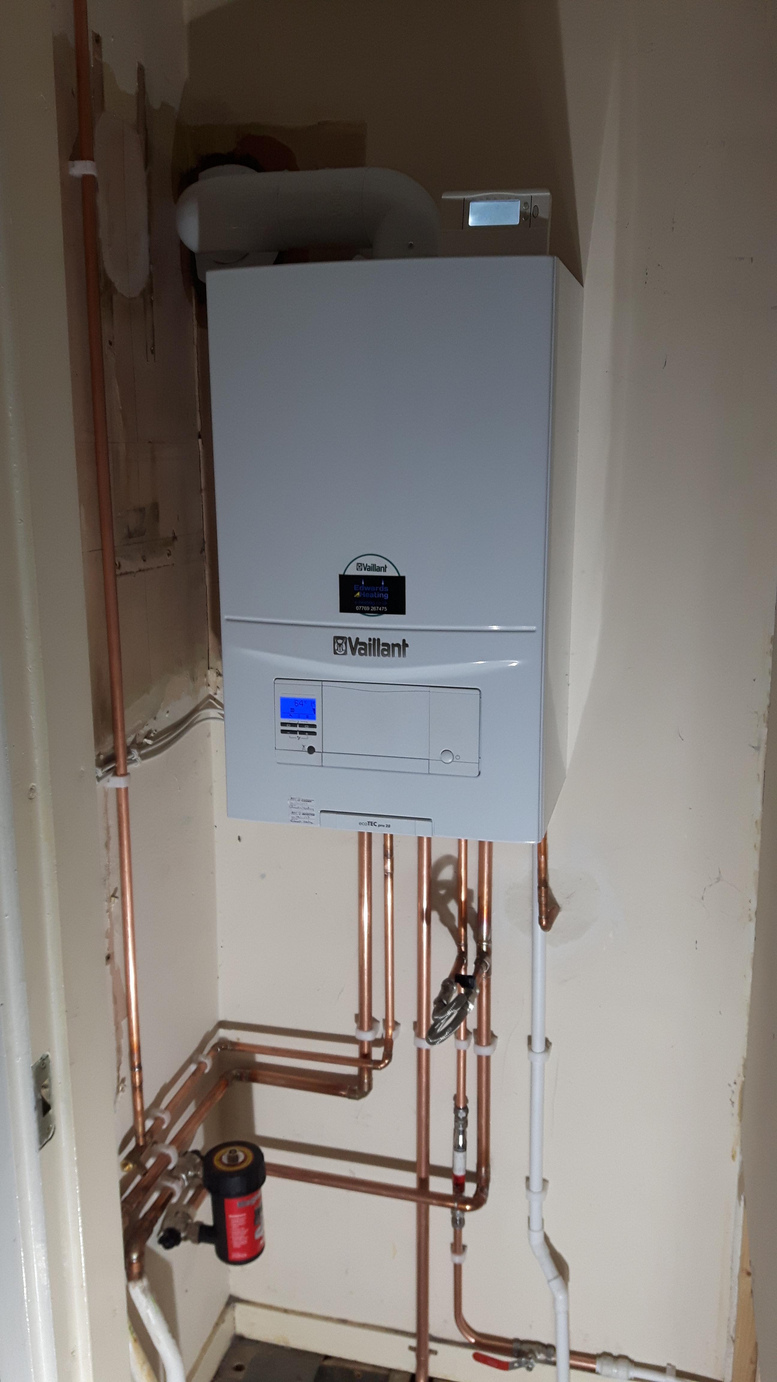 Vaillant Ecotec Combi Boiler