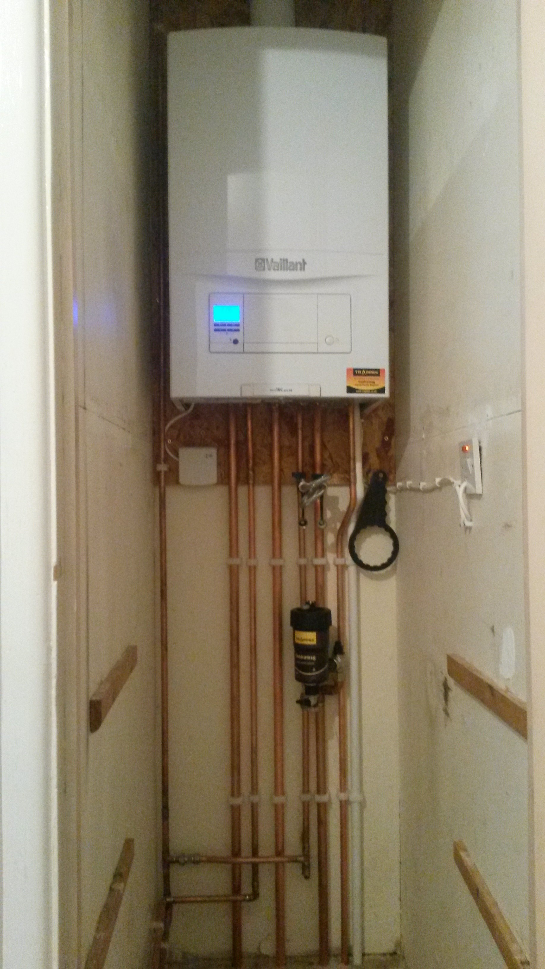 Airing cupboard conversion