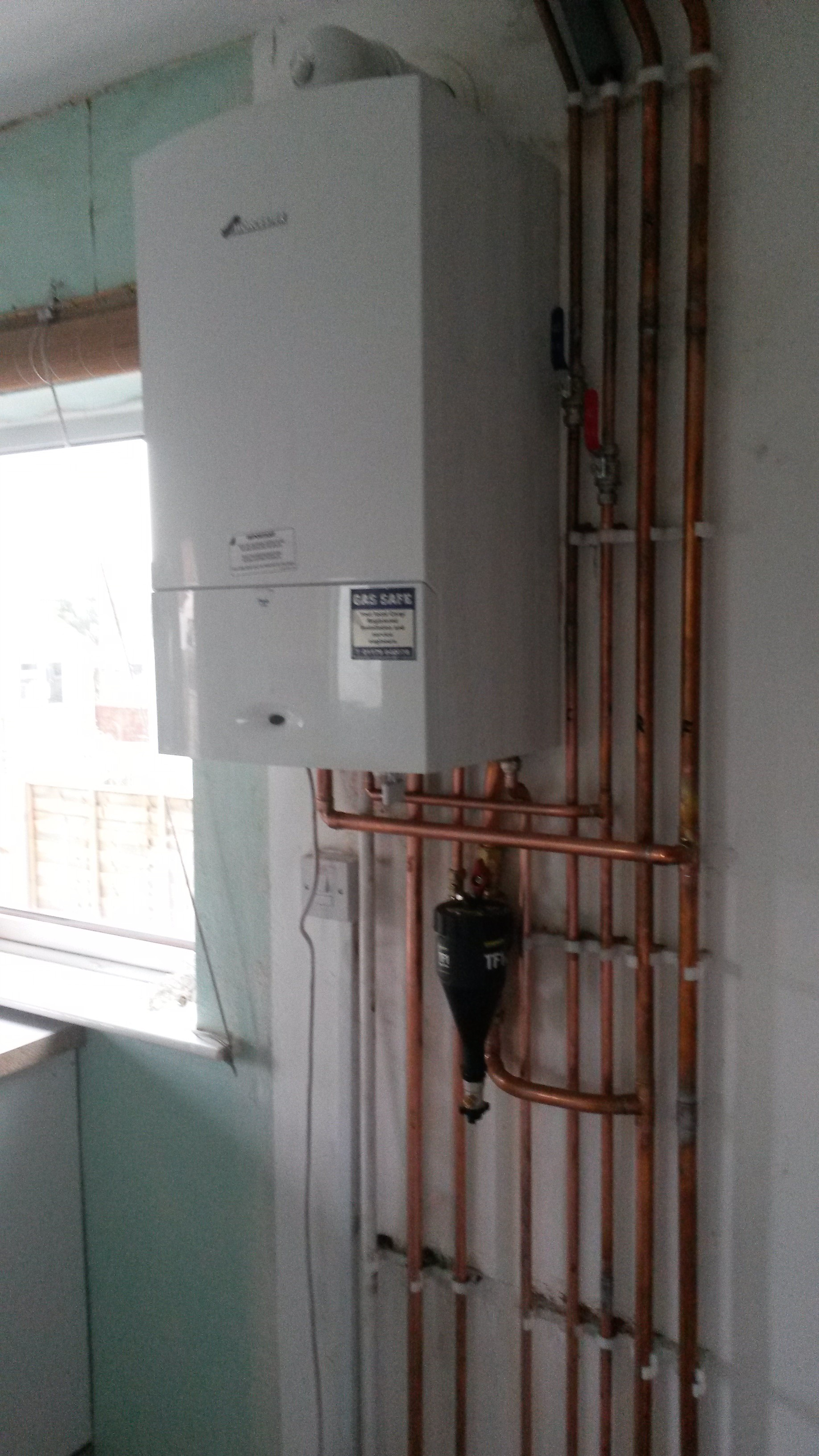 Worcester Boiler Relocation